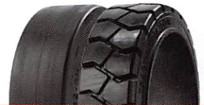 Advance Solid Press-On-Band (Traction) Tires