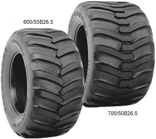 Forestry EL 700 HF-1 Tires